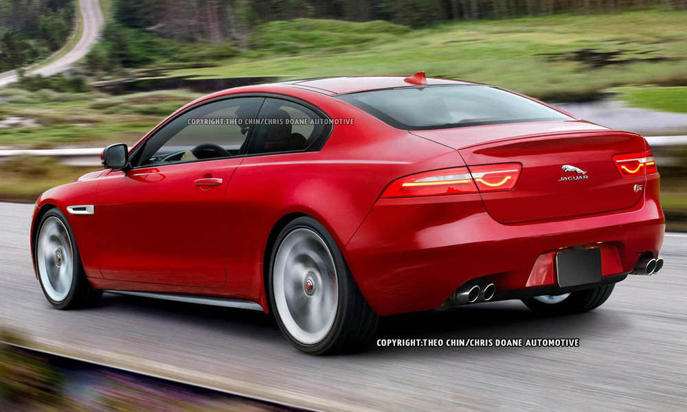 Exciting Renders of Future Jaguar XE Coupe - GTspirit