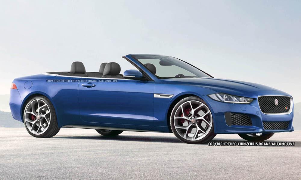 Future Jaguar XE Cabriolet Rendered  GTspirit