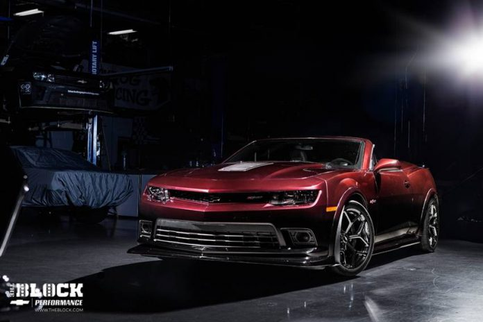 One-Off 2014 Camaro Z/28 Convertible by Blackdog Speed Shop