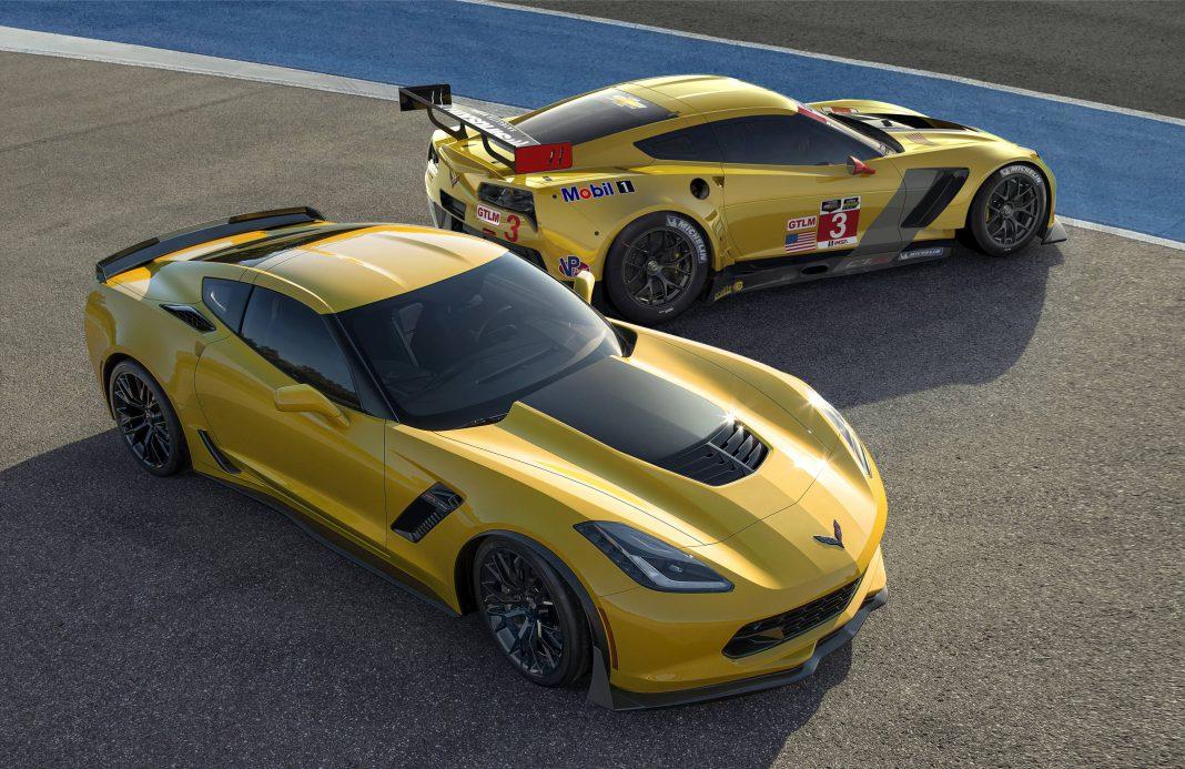 Corvette Z06 avd C7.R
