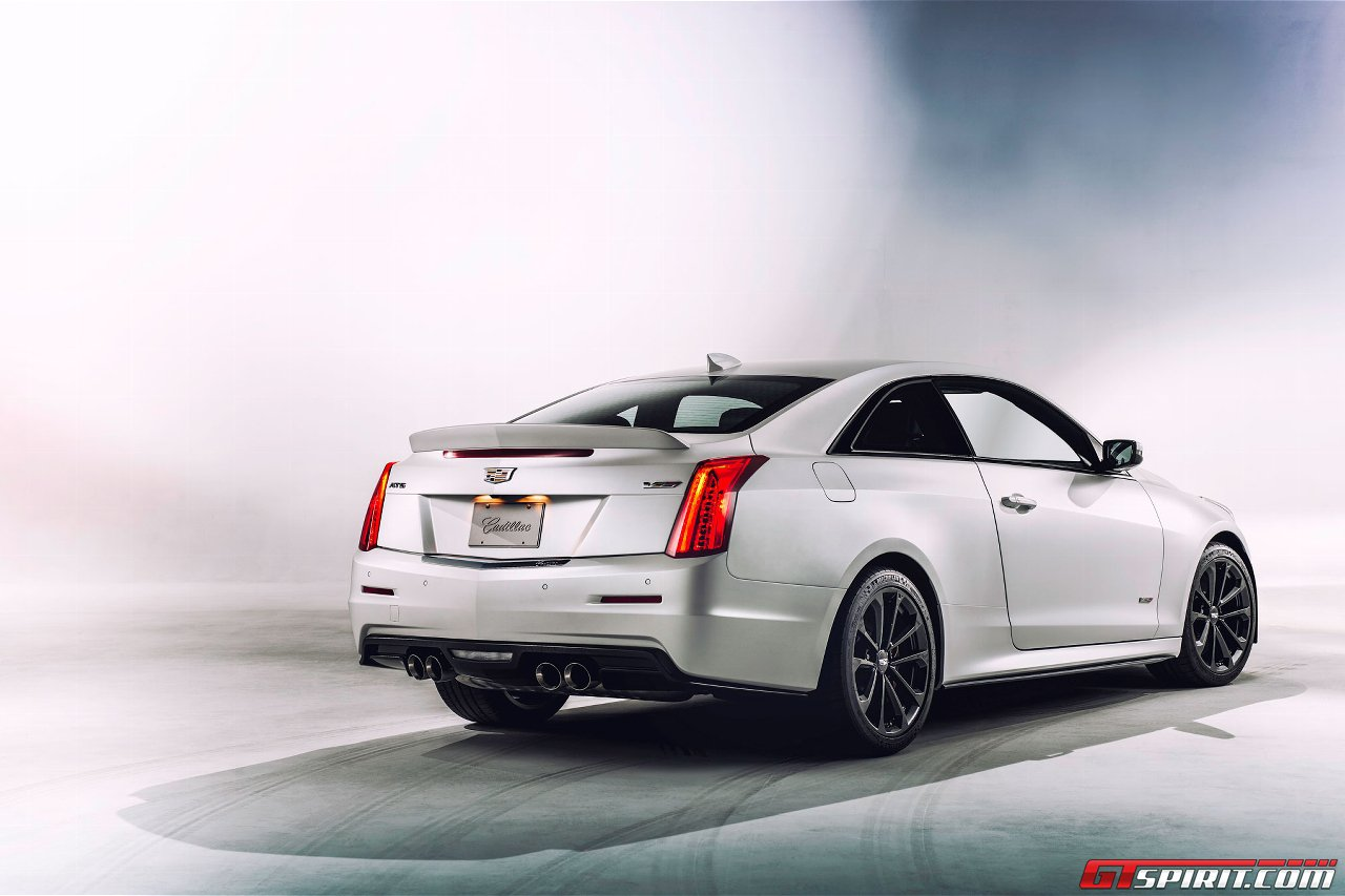 Official: 2016 Cadillac ATS-V Coupe and Sedan - GTspirit