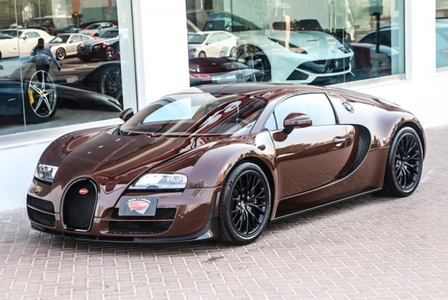 unique brown bugatti veyron super sport for sale in uae. Black Bedroom Furniture Sets. Home Design Ideas