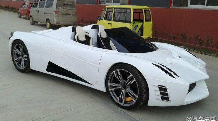 Chinese Enthusiasts Pagani Huayra Replica