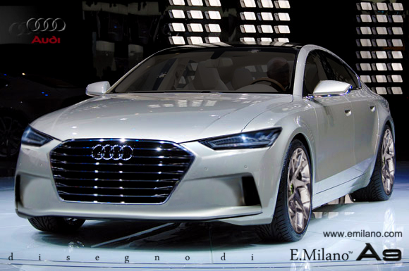 2015 Audi A9 Imagined by Evren Milano