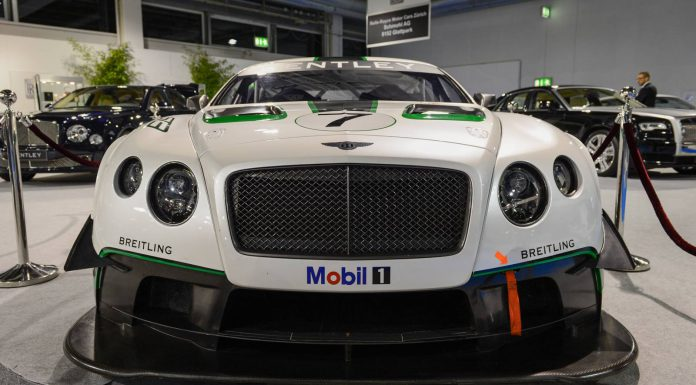 Auto Zurich 2014: Bentley Continental GT3