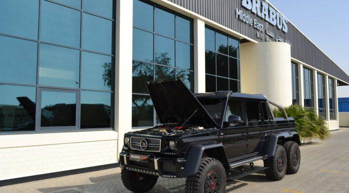 Black Brabus 700 G63 6x6