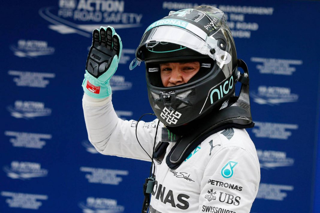 Rosberg Wins Brazil GP as Hamilton Makes it 1-2 for Silver Arrows