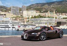 Bugatti Veyron Grand Sport Vitesse in Monaco