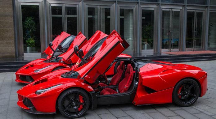 Photo of the Day: Double LaFerrari in Shanghai!