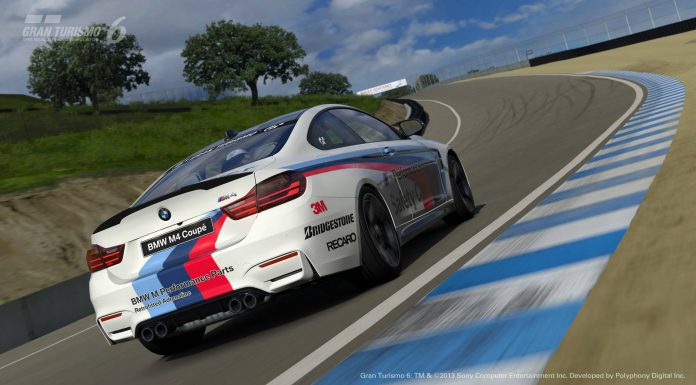 BMW M4 Safety Car Launched for Gran Turismo 6