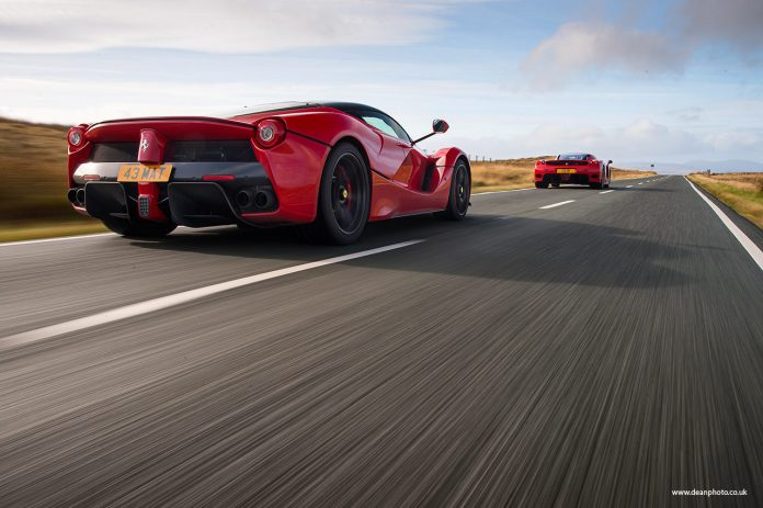 Photo of the Day: LaFerrari and Enzo in North Wales by Dean Smith