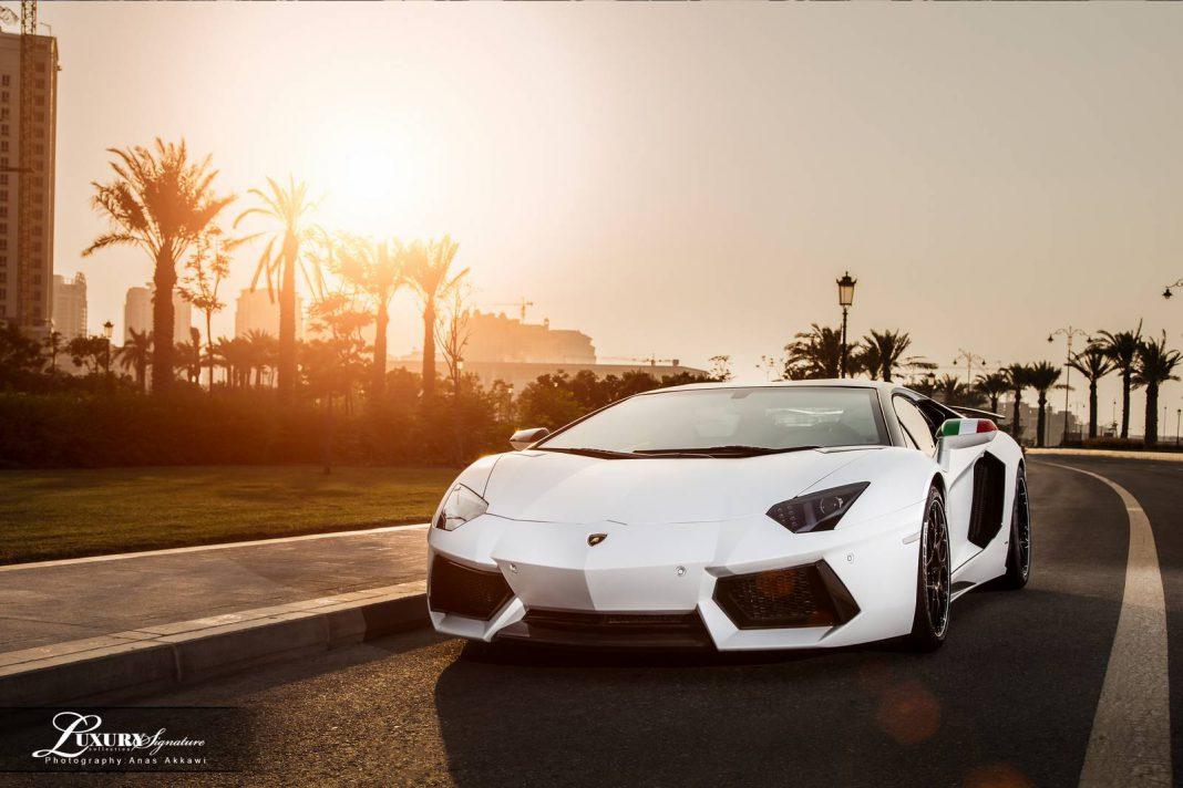 Lamborghini Aventador in Qatar