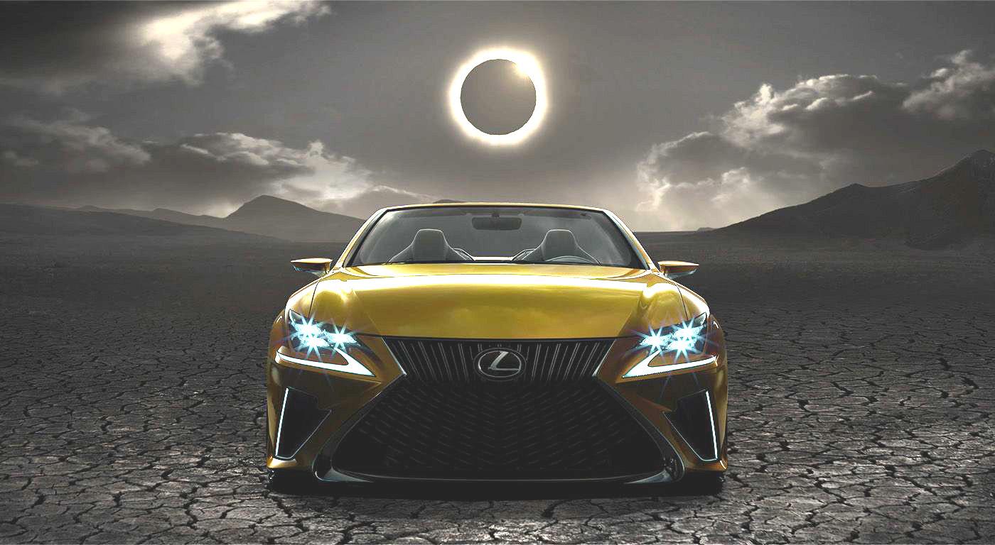 New Lexus LF-C2 Concept Teasers Released - GTspirit