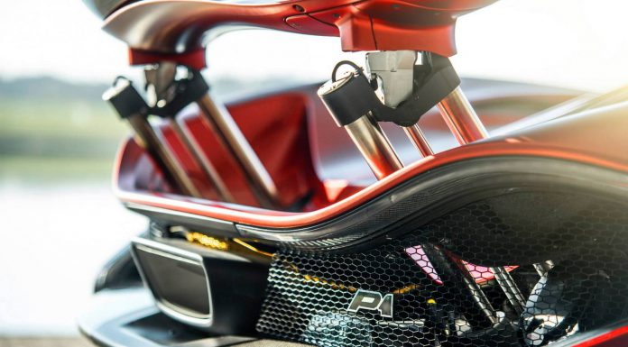 MSO Reveals New Satin Volcano Red McLaren P1
