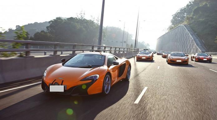 McLaren Club Hong Kong Launch Drive