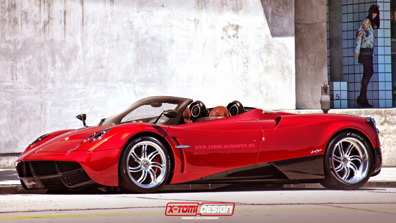 Pagani Huayra Roadster Autos Post