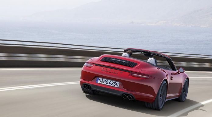 Porsche at LA Auto Show 2014