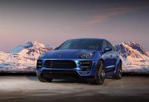 Blue TopCar Porsche Macan Turbo Ursa
