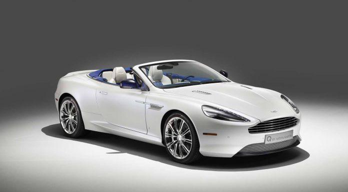 Q By Aston Martin Db9 Volante In Morning Frost Gtspirit