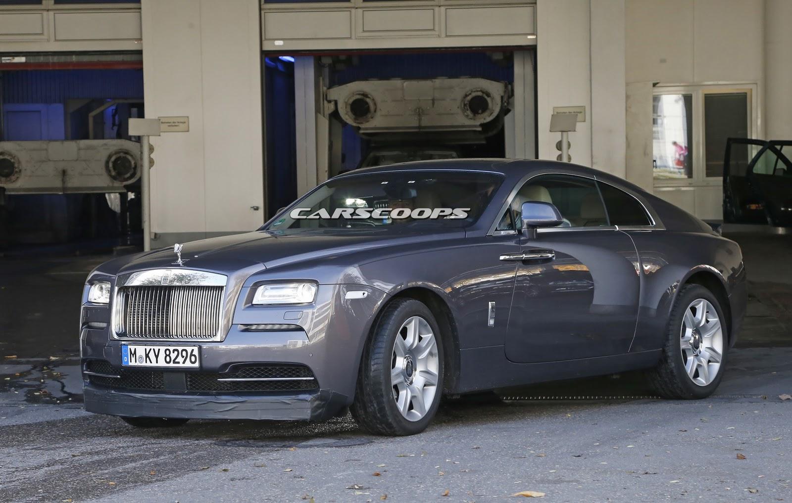 More Focused Rolls Royce Wraith Prototype Spied Gtspirit