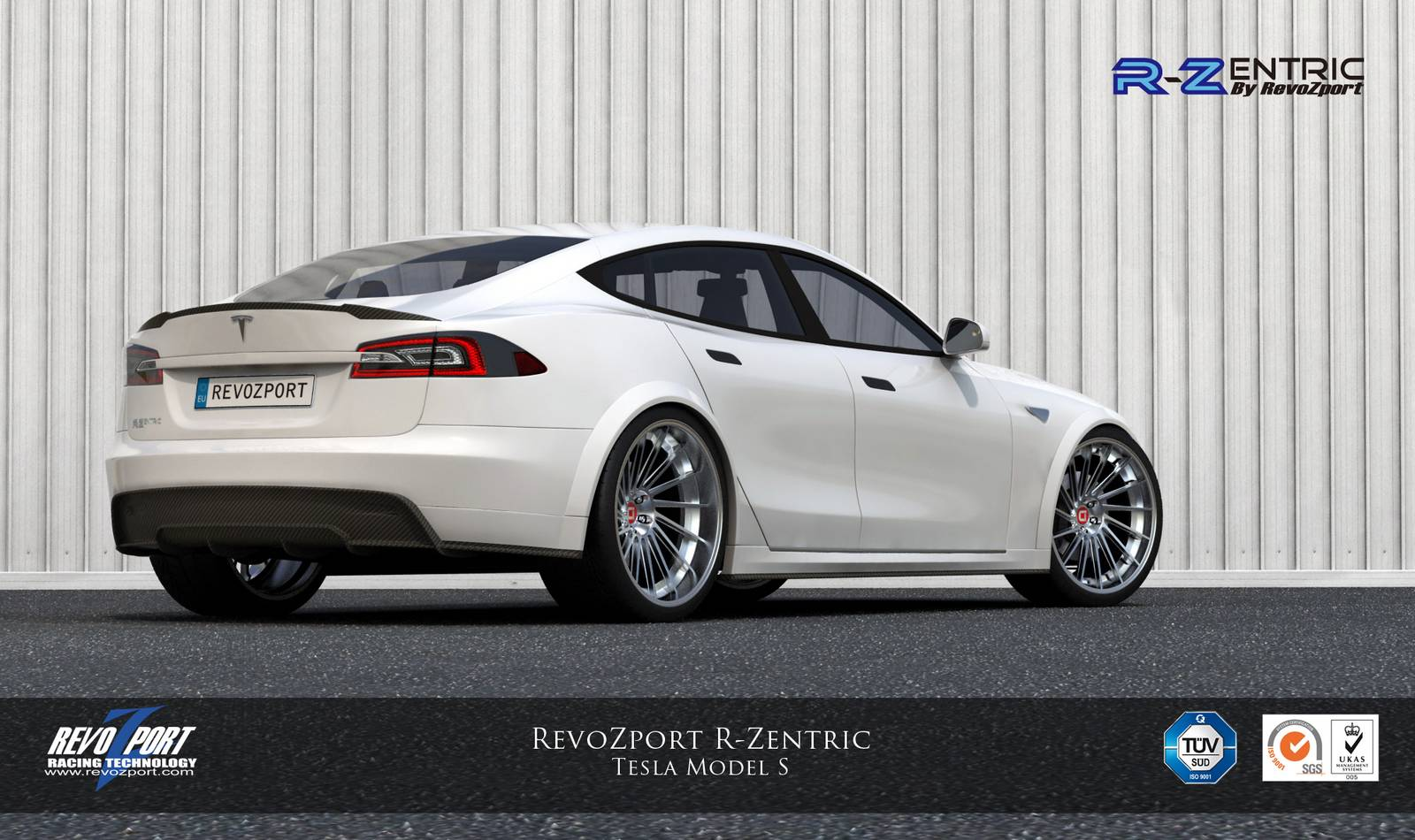 Official Revozport Tesla Model S R Zentric Gtspirit