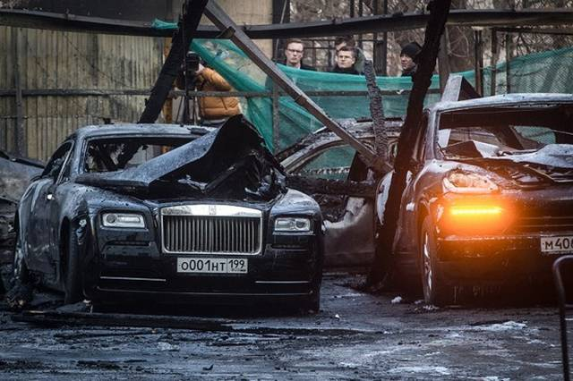 Million Worth Of Supercars Destroyed In Moscow Fire Gtspirit