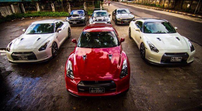 Gallery: Supercars in Myanmar