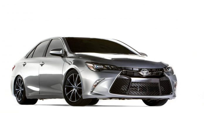 TRD Wows SEMA with 850hp Camry Dragster!