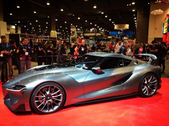 SEMA 2014: Toyota FT1