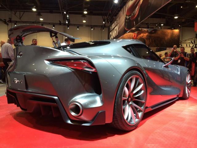 SEMA 2014: Toyota FT-1 Graphite - GTspirit