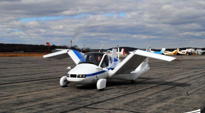 Transition Aerocar by Terrafugia