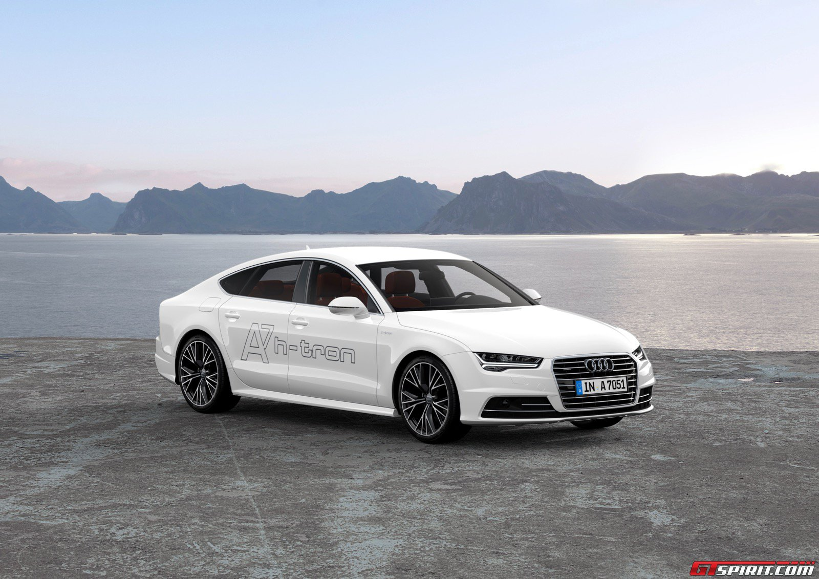 lastcarnews audi a7 sportback h tron quattro concept. Black Bedroom Furniture Sets. Home Design Ideas