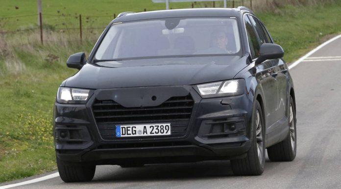 2015 Audi Q7 Spied Undisguised
