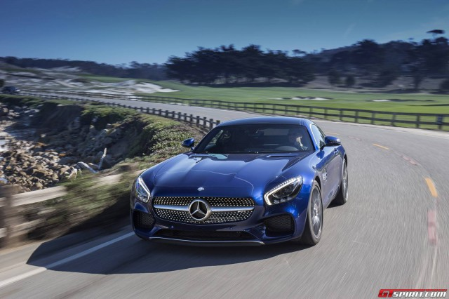 blue-Mercedes AMG-gt-s