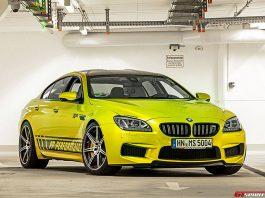 Official: Electric Lime PP-Performance BMW M6 RS800 Gran Coupé