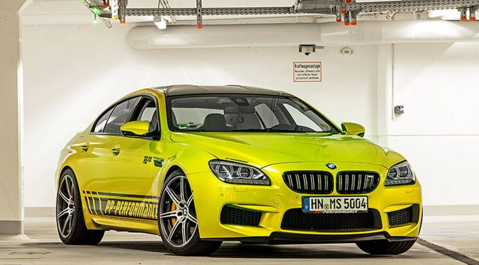 Official: Electric Lime PP-Performance BMW M6 RS800 Gran Coupé