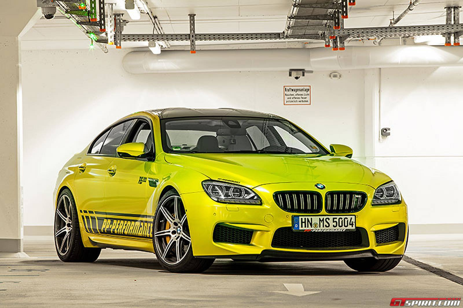 official electric lime pp performance bmw m6 rs800 gran coup gtspirit. Black Bedroom Furniture Sets. Home Design Ideas