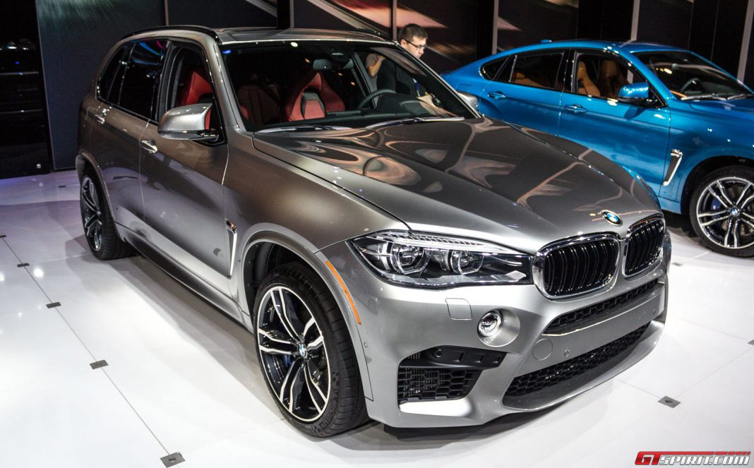 BMW X5 M at the Los Angeles Auto Show 2014
