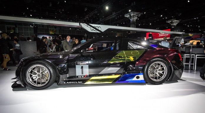 Cadillac ATS-V R at the Los Angeles Auto Show 2014