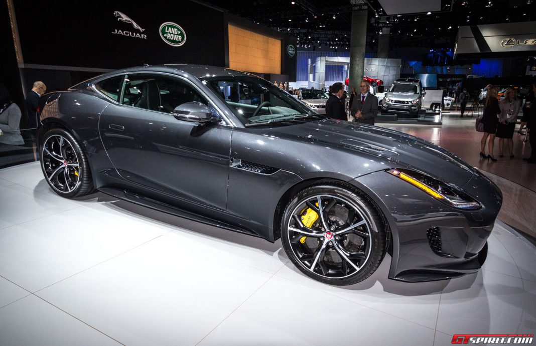 Jaguar F-Type AWD at the Los Angeles Auto Show 2014
