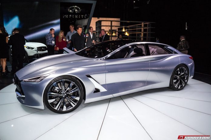 Infiniti Q80 Inspiration Concept in Los Angeles