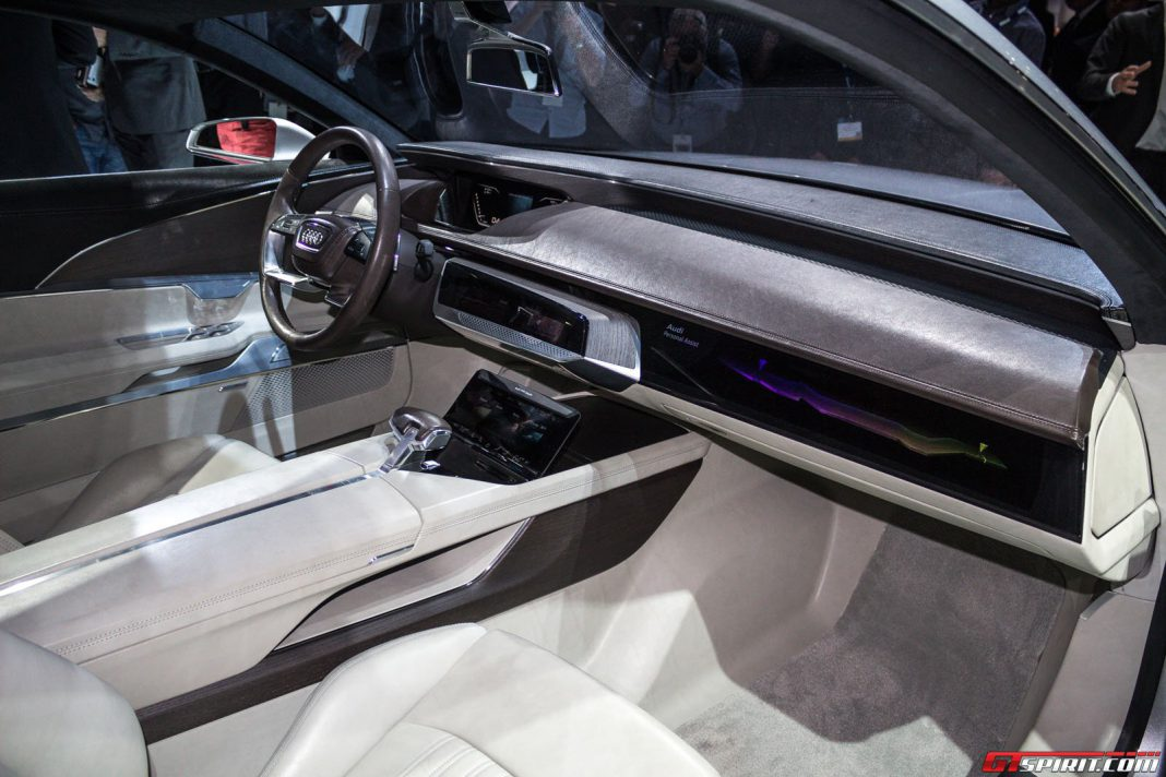 Audi Prologue Concept at the Los Angeles Auto Show 2014