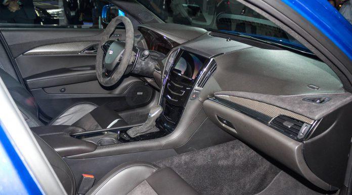 Cadillac ATS-V at the Los Angeles Auto Show 2014