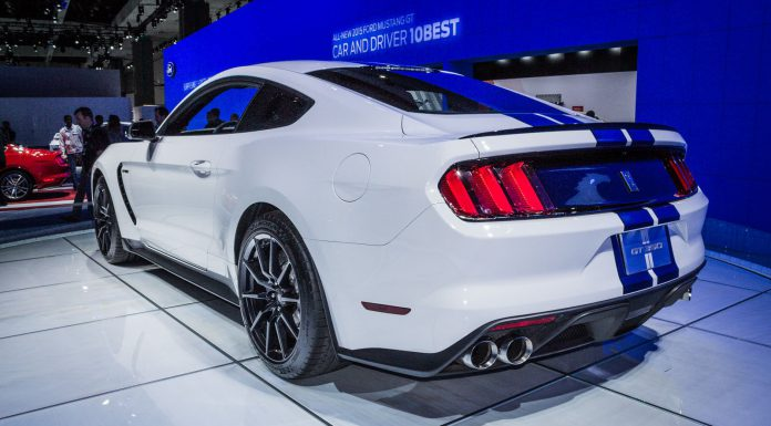Ford Shelby Mustang GT350 at the Los Angeles Auto Show 2014