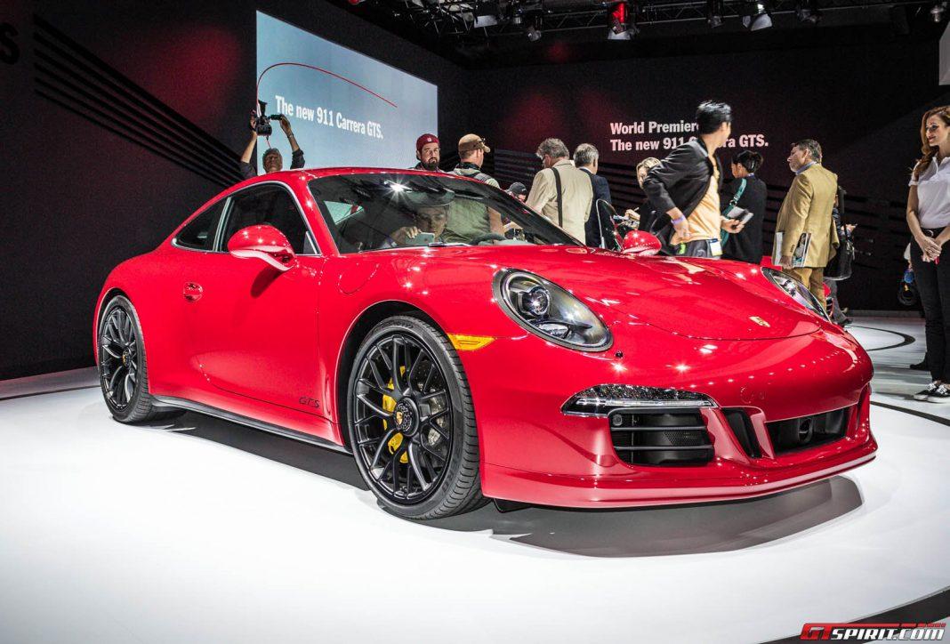 Porsche Carrera GTS at Los Angeles Auto Show 2014