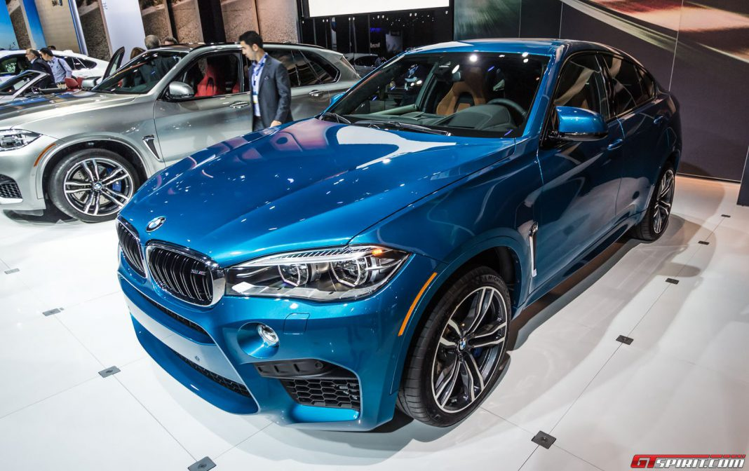 BMW X6 M at the Los Angeles Auto Show 2014