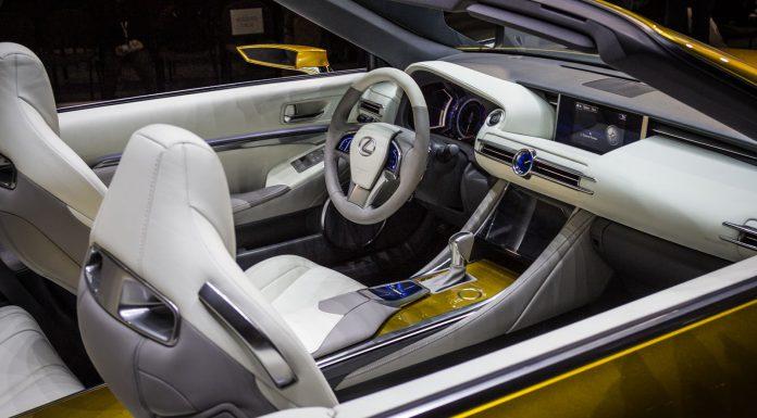 Lexus LF-C2 at Los Angeles Auto Show 2014