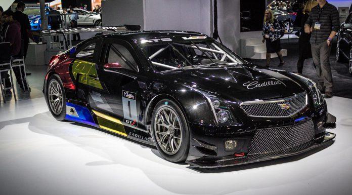 Cadillac ATS V R at the Los Angeles Auto Show 2014