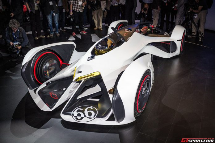 Chevrolet Chaparral 2X Vision Gran Turismo at the Los Angeles Auto Show 2014