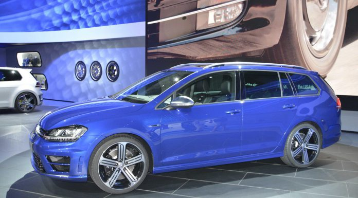 Volkswagen Golf R Variant at Los Angeles Auto Show 2014